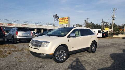 2008 Lincoln MKX for sale at TOMI AUTOS, LLC in Panama City FL