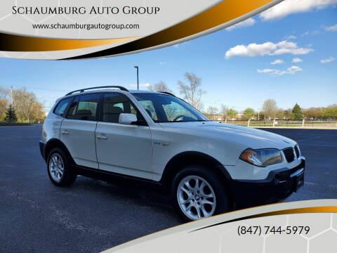 2004 BMW X3 for sale at Schaumburg Auto Group in Schaumburg IL