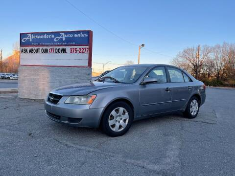 2006 Hyundai Sonata for sale at Alexander's Auto Sales in North Little Rock AR