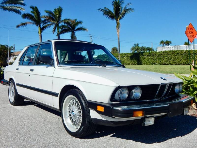 1988 BMW 5 Series for sale at VE Auto Gallery LLC in Lake Park FL