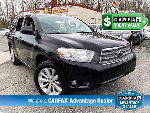 2008 Toyota Highlander Hybrid for sale at High Rated Auto Company in Abingdon MD