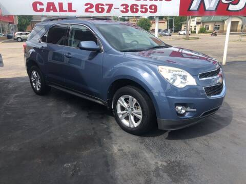 2011 Chevrolet Equinox for sale at N & J Auto Sales in Warsaw IN