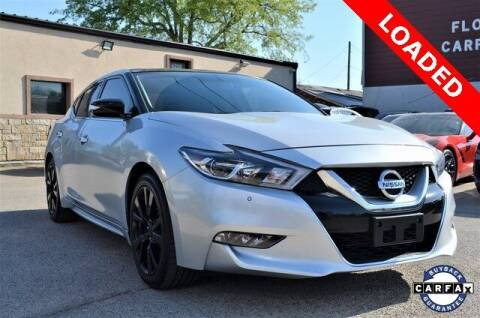 2017 Nissan Maxima for sale at LAKESIDE MOTORS, INC. in Sachse TX