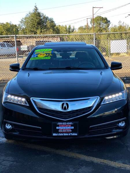 2015 Acura TLX for sale at Mike's Auto Sales in Yakima WA