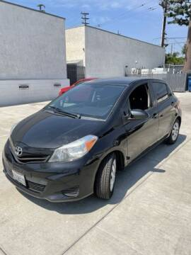 2014 Toyota Yaris for sale at Hunter's Auto Inc in North Hollywood CA