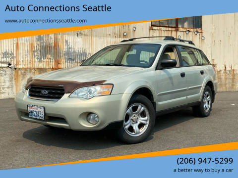 2007 Subaru Outback for sale at Auto Connections Seattle in Seattle WA