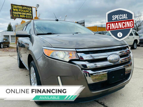 2013 Ford Edge for sale at 3 Brothers Auto Sales Inc in Detroit MI