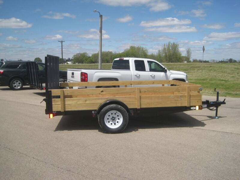 2020 Liberty 83 IN X 12 FT UTILITY TRAILER for sale at G T AUTO PLAZA Inc in Pearl City IL