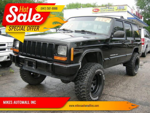 2001 Jeep Cherokee for sale at MIKES AUTOMALL INC in Ingleside IL