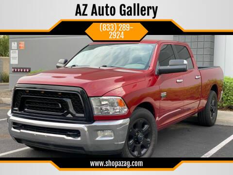 2010 Dodge Ram Pickup 2500 for sale at AZ Auto Gallery in Mesa AZ