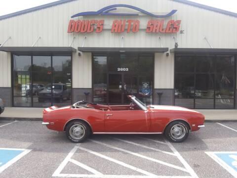 1968 Chevrolet Camaro for sale at DOUG'S AUTO SALES INC in Pleasant View TN