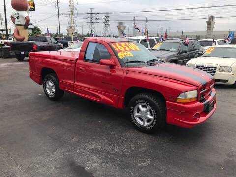 1999 Dodge Dakota for sale at Texas 1 Auto Finance in Kemah TX