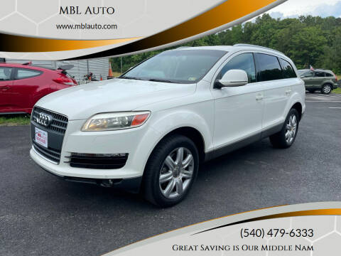 2008 Audi Q7 for sale at MBL Auto Woodford in Woodford VA