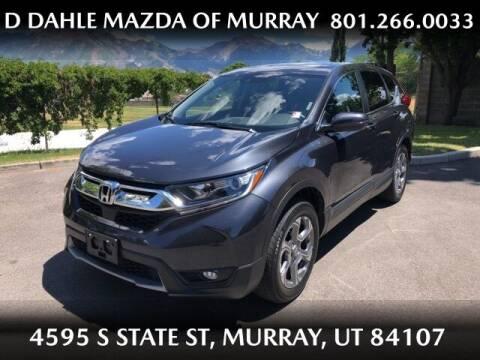 2017 Honda CR-V for sale at D DAHLE MAZDA OF MURRAY in Salt Lake City UT