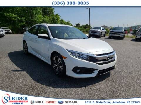 2018 Honda Civic for sale at STRIDER BUICK GMC SUBARU in Asheboro NC