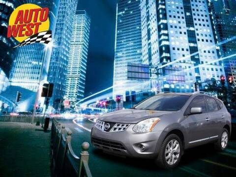 2013 Nissan Rogue for sale at Autowest of Plainwell in Plainwell MI
