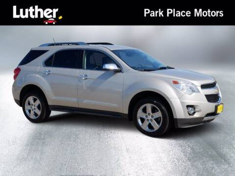 2015 Chevrolet Equinox for sale at Park Place Motor Cars in Rochester MN