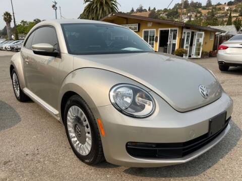 2013 Volkswagen Beetle for sale at MISSION AUTOS in Hayward CA