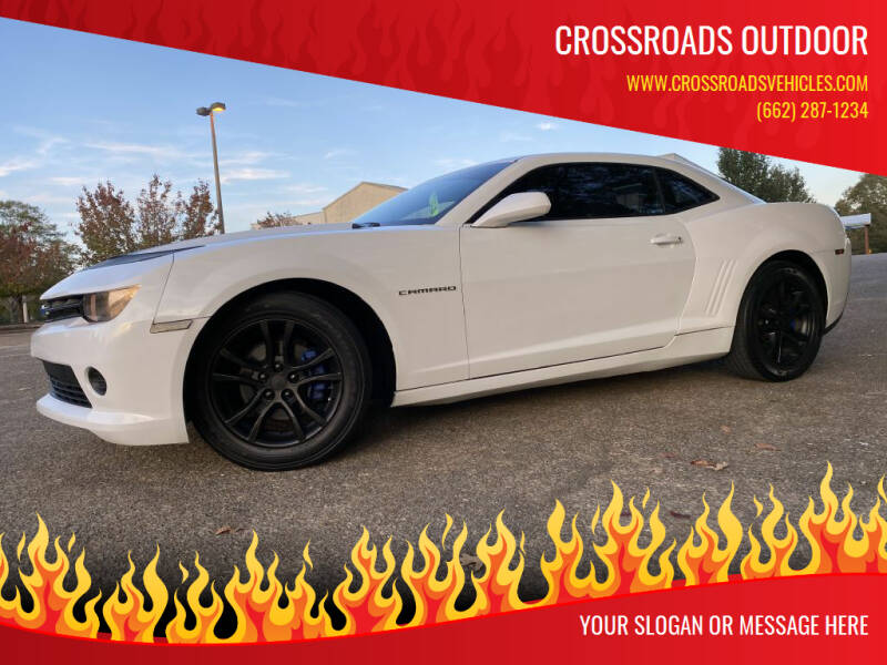 2015 Chevrolet Camaro for sale at Crossroads Outdoor in Corinth MS