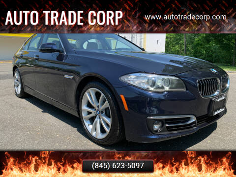 2014 BMW 5 Series for sale at AUTO TRADE CORP in Nanuet NY
