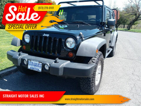 2011 Jeep Wrangler Unlimited for sale at STRAIGHT MOTOR SALES INC in Paterson NJ