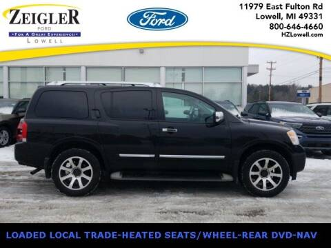 2011 Nissan Armada for sale at Zeigler Ford of Plainwell- Jeff Bishop in Plainwell MI