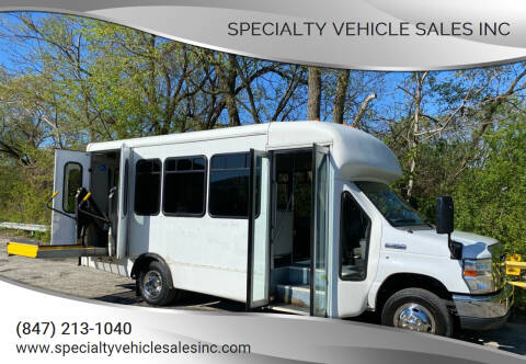 2011 Ford E-Series Chassis for sale at SPECIALTY VEHICLE SALES INC in Skokie IL