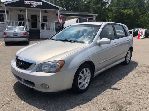2005 Kia Spectra for sale at CVC AUTO SALES in Durham NC