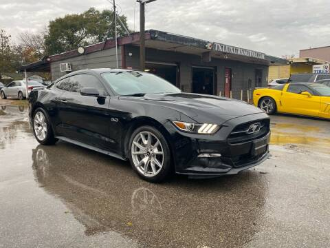 2015 Ford Mustang for sale at Texas Luxury Auto in Houston TX