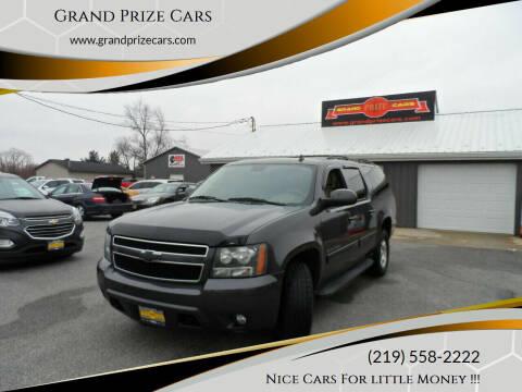 2010 Chevrolet Suburban for sale at Grand Prize Cars in Cedar Lake IN