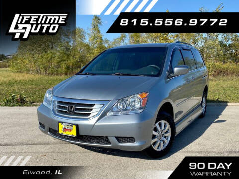 2008 Honda Odyssey for sale at Lifetime Auto in Elwood IL