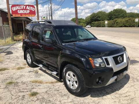 2010 Nissan Xterra for sale at Quality Auto Group in San Antonio TX