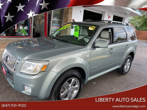 2008 Mercury Mariner for sale at Liberty Auto Sales in Elgin IL