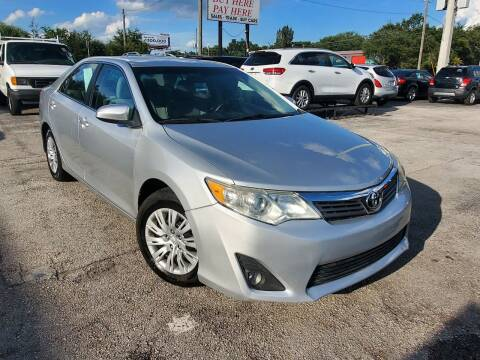 2012 Toyota Camry for sale at Mars auto trade llc in Kissimmee FL