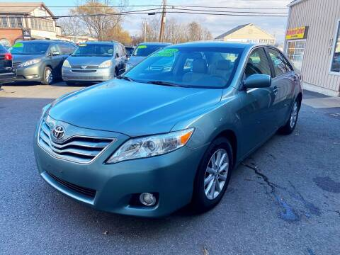 2010 Toyota Camry for sale at Dijie Auto Sale and Service Co. in Johnston RI