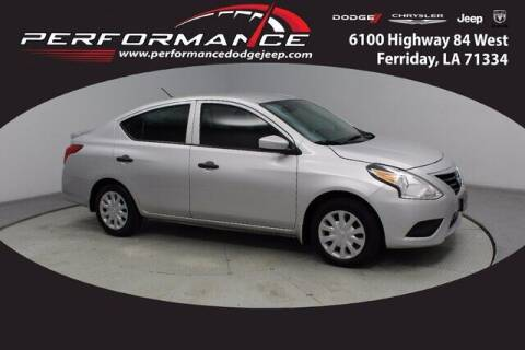 2018 Nissan Versa for sale at Performance Dodge Chrysler Jeep in Ferriday LA
