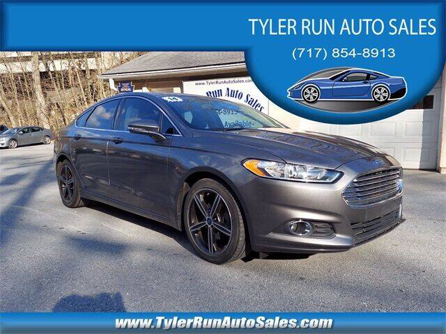 2014 Ford Fusion for sale at Tyler Run Auto Sales in York PA