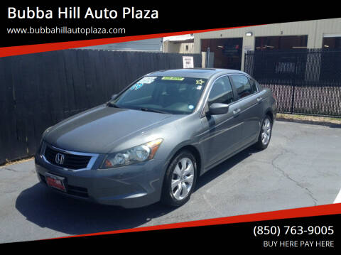 2009 Honda Accord for sale at Bubba Hill Auto Plaza in Panama City FL