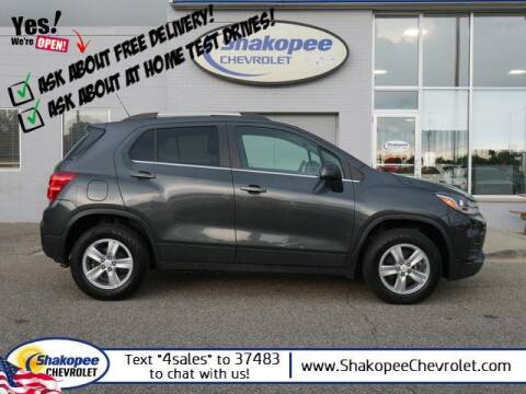 2017 Chevrolet Trax for sale at SHAKOPEE CHEVROLET in Shakopee MN