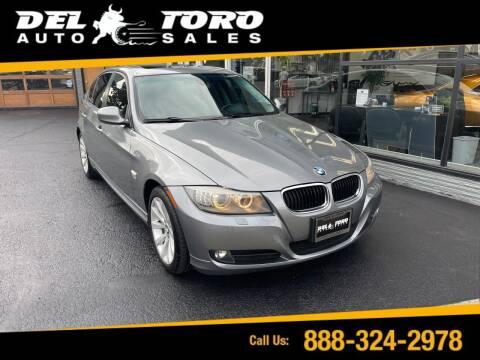 2011 BMW 3 Series for sale at DEL TORO AUTO SALES in Auburn WA