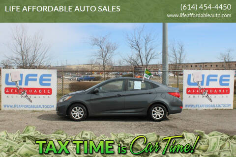 2013 Hyundai Accent for sale at LIFE AFFORDABLE AUTO SALES in Columbus OH