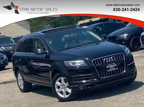 2015 Audi Q7 for sale at Star Motor Sales in Downers Grove IL