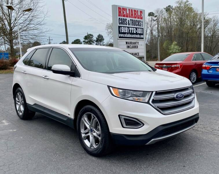 2017 Ford Edge for sale at Reliable Cars & Trucks LLC in Raleigh NC