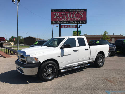 2012 RAM Ram Pickup 1500 for sale at RAUL'S TRUCK & AUTO SALES, INC in Oklahoma City OK