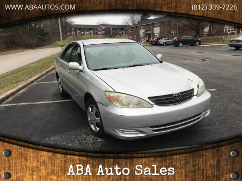 2003 Toyota Camry for sale at ABA Auto Sales in Bloomington IN