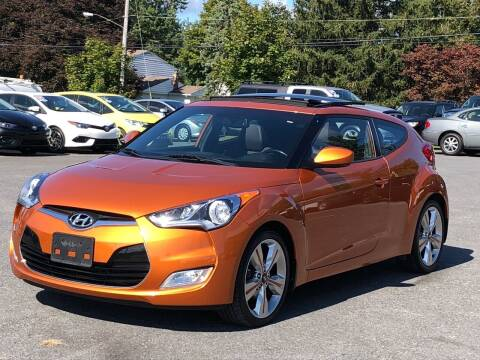 2016 Hyundai Veloster for sale at GREENPORT AUTO in Hudson NY