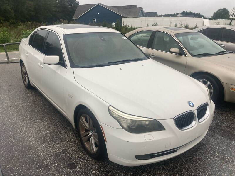 2009 BMW 5 Series for sale at UpCountry Motors in Taylors SC