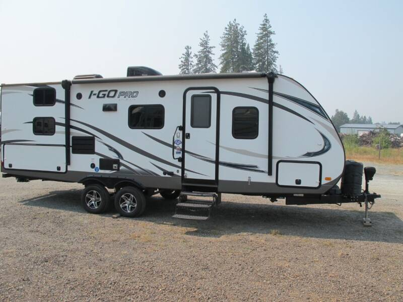 2016 Evergreen IGO PRO  240DBD W/Slide  for sale at Oregon RV Outlet LLC in Grants Pass OR