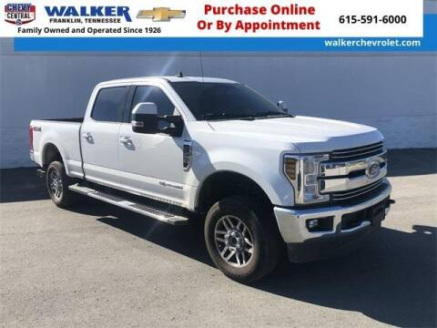 2019 Ford F-250 Super Duty for sale at WALKER CHEVROLET in Franklin TN