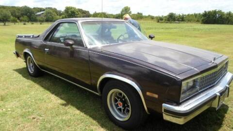1985 GMC Caballero for sale at Classic Car Deals in Cadillac MI